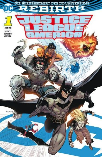 Justice League of America 1 (2017) - Die Extremists Variant
