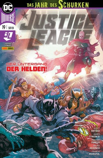 Justice League 19 Cover