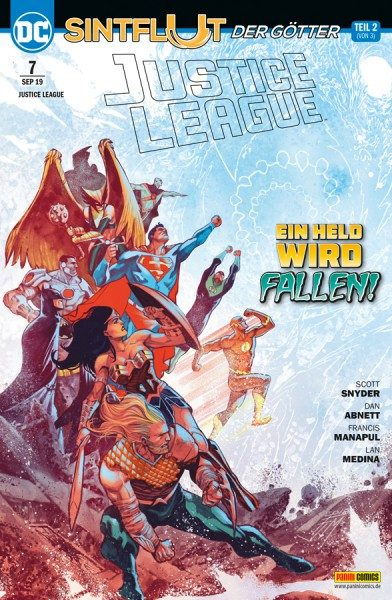 Justice League 7 Cover
