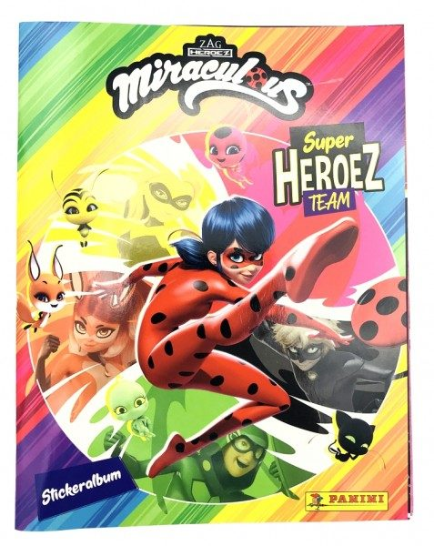 Miraculous Super Heroez Team - Sticker & Cards - Album Cover