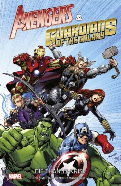 Avengers & Guardians of the Galaxy Hardcover