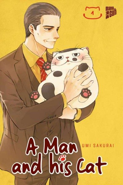 A Man and His Cat 1 Cover