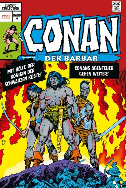Conan der Barbar Classic Collection 4 Cover