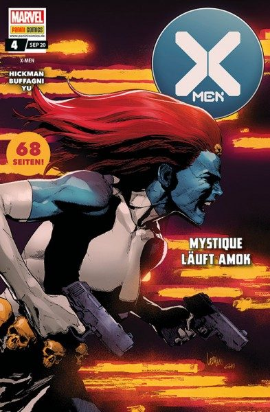 X-Men 4 - Mystique läuft Amok Cover