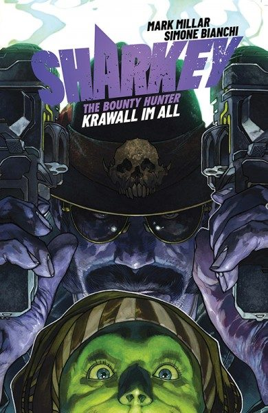 Sharkey the Bounty Hunter - Krawall im All Cover