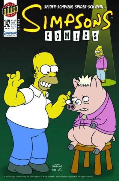 Simpsons Comics 142