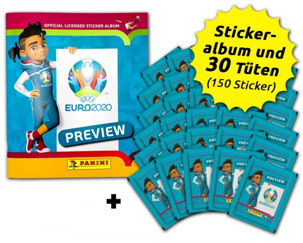 UEFA EURO 2020 - Official Preview Collection - Sticker - Euro-Bundle