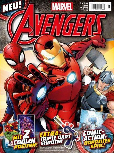 Avengers Magazin #1 Cover