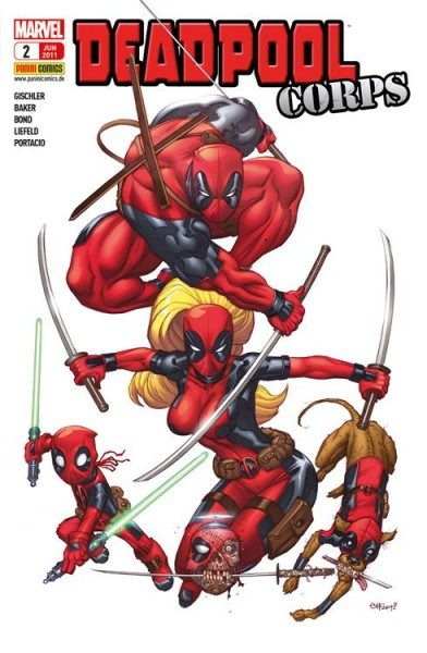 Deadpool Sonderband 2 - Deadpool Corps 1
