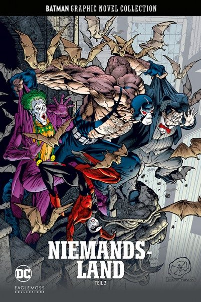 Batman Graphic Novel Collection 61 - Niemandsland 3 Cover
