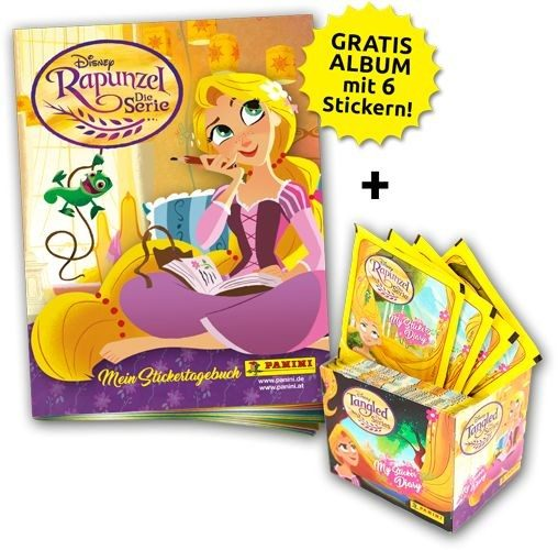Disney - Rapunzel - Stickerkollektion - Sticker-Starter-Bundle