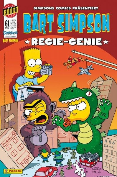 Bart Simpson Comics 61