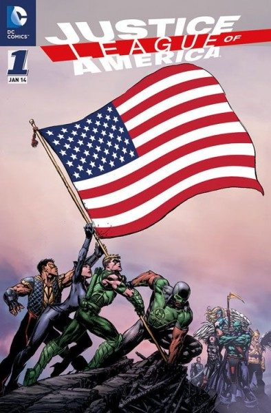 Justice League of America 1 (2014) Variant
