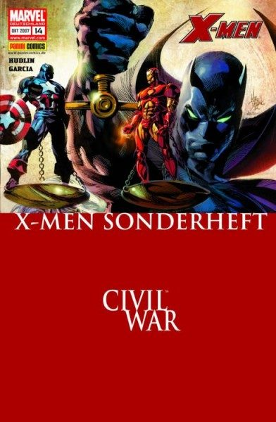 X-Men Sonderheft 14 - Storm & Black Panther 1 - Civil War