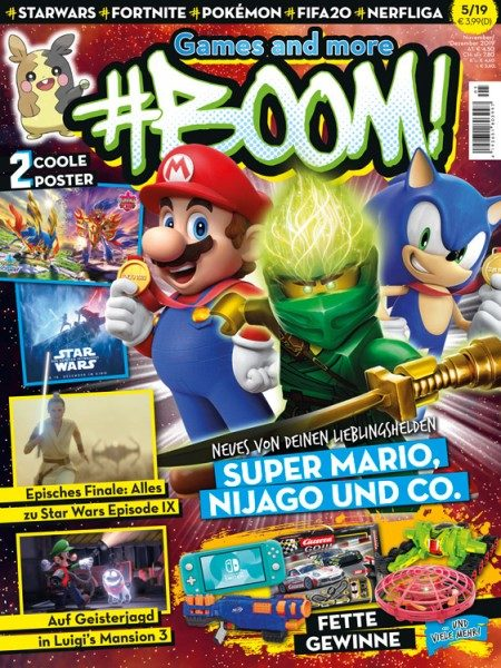 Games and more #BOOM! 05/19 Cover