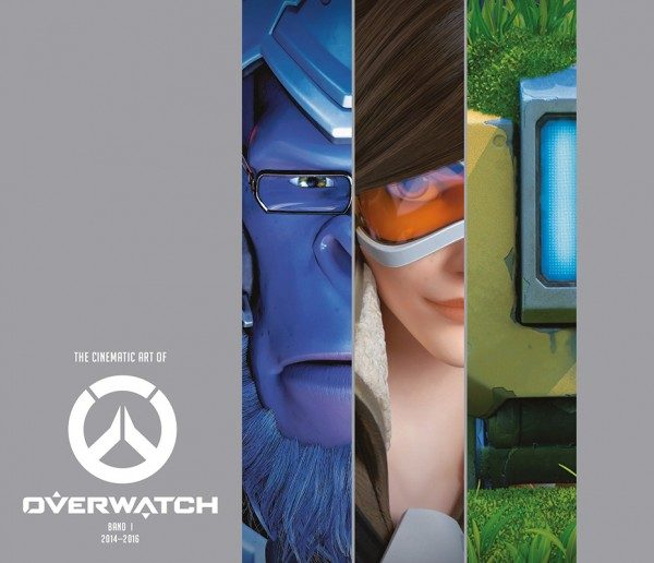 The Cinematic Art of Overwatch Cover