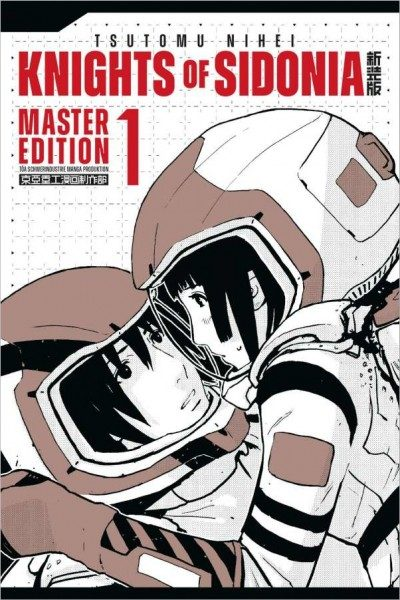 Knights of Sidonia - Master Edition 1 Cover