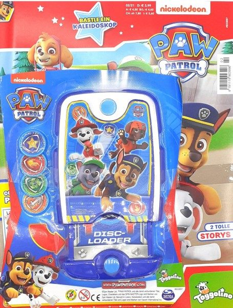 Paw Patrol Magazin 02/21 Cover mit Extra