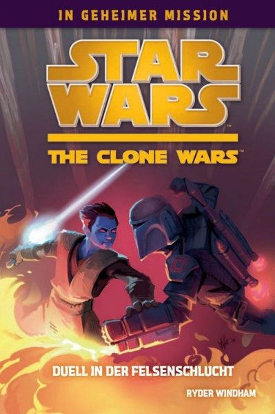 Star Wars - The Clone Wars in geheimer Mission 3 - Duell in der Felsenschlucht