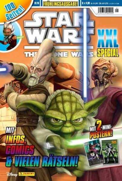 Star Wars - The Clone Wars XXl Special 01/16