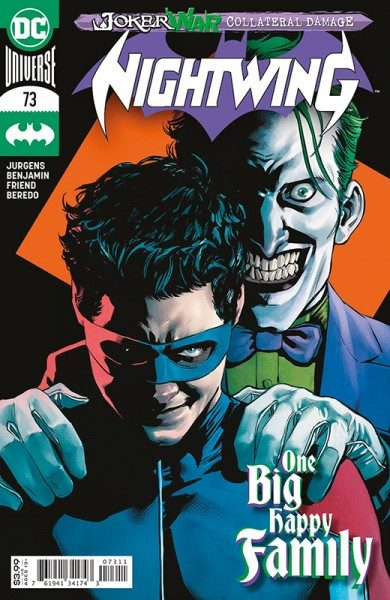 Nightwing 11 Cover