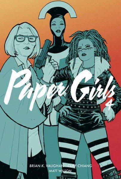 Paper Girls 4 Cover