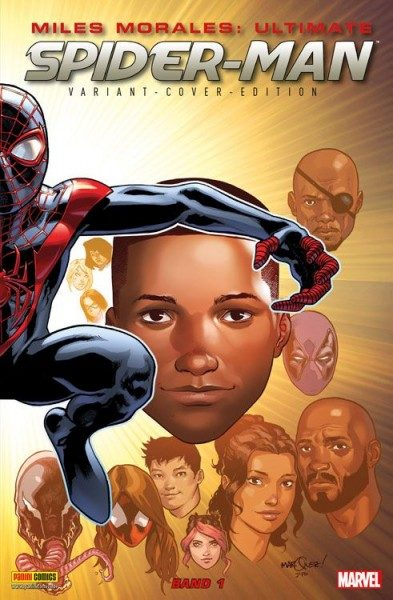 Miles Morales - Ultimate Spider-Man 1 Variant Cover