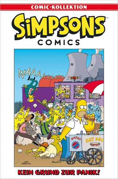 Simpsons Comic-Kollektion 64: Kein Grund zur Panik! Cover