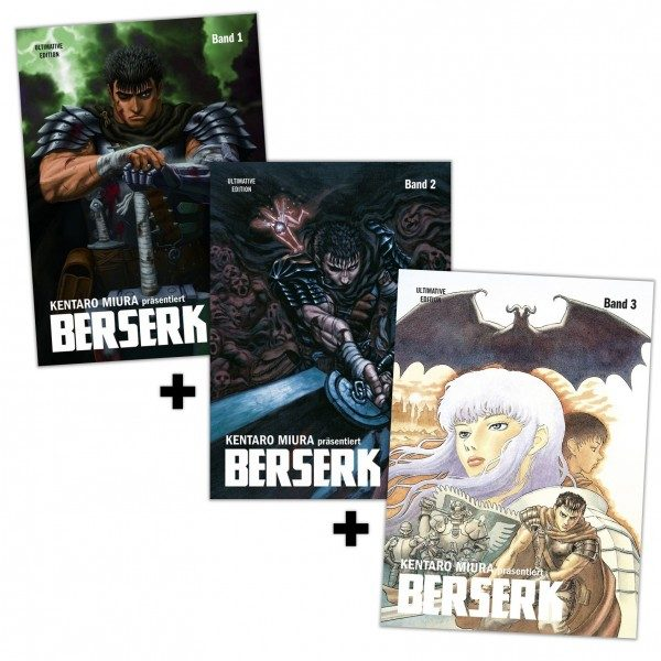 Berserk - Ultimative Edition - Schnupper-Bundle