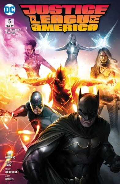 Justice League of America 5 (2017)- Der Gott der Superhelden