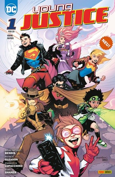 Young Justice 1 - Sieben Krisen Cover