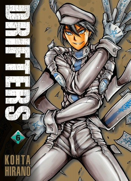 Drifters 6 Cover