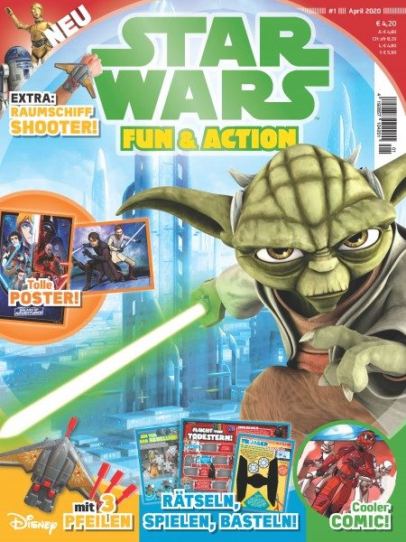 Star Wars Fun & Action Magazin 01/20 Cover