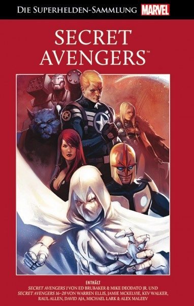 Die Marvel Superhelden Sammlung  93 Secret Avengers Cover
