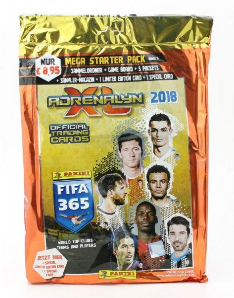 Panini FIFA 365 2018 Adrenalyn XL Trading Cards - Bundle 6