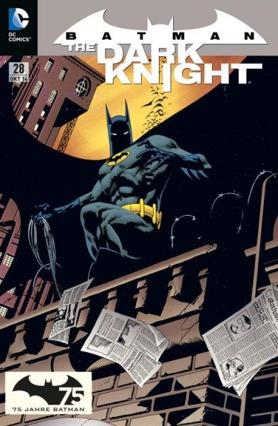 Batman - The Dark Knight 28 Comic Action 2014 Variant