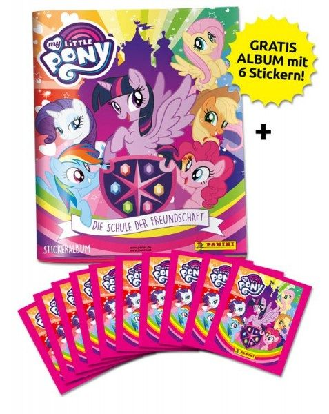 My Little Pony 2 Stickerkollektion - Schnupperbundle