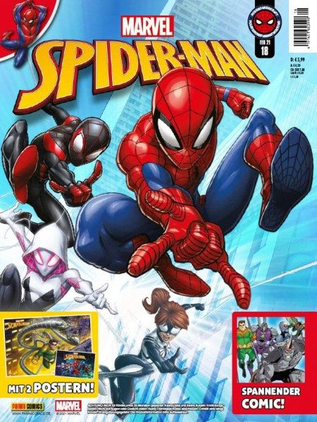 Spider-Man Magazin 18 Cover