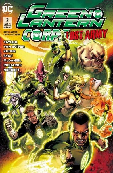 Green Lantern Corps - Lost Army 2
