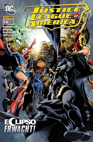 Justice League of America 16 (2007) - Eclipso Erwacht