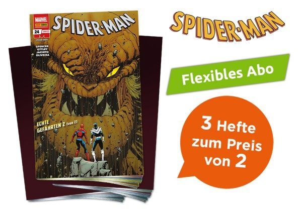 3 für 2 - Flexibles Abo - Spider-Man Heft
