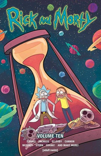 Rick and Morty 10 Cover