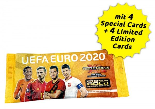 UEFA Euro 2020 Adrenalyn XL Premium Gold Pack