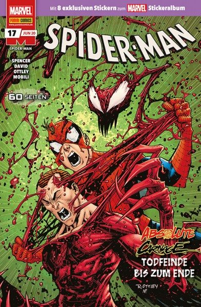 Spider-Man 17 Cover