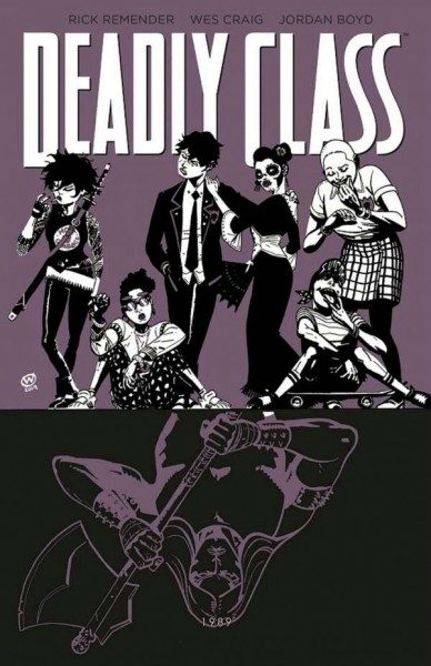 Deadly Class 9 - Knochenmaschine Cover