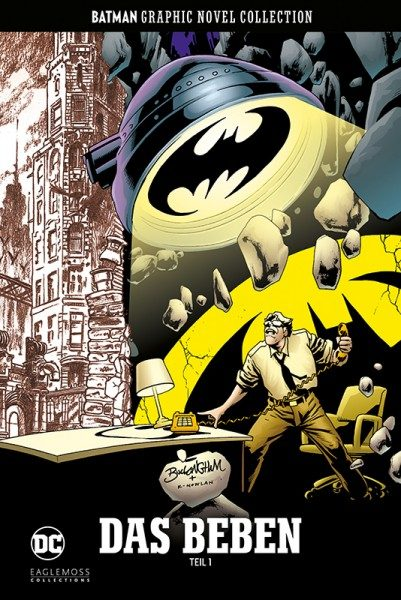 Batman Graphic Novel Collection 54 - Das Beben - Teil 1 Cover