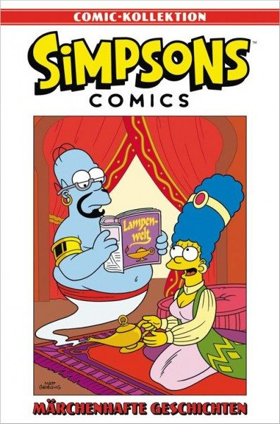 Simpsons Comic-Kollektion 26: Märchenhafte Geschichten Cover