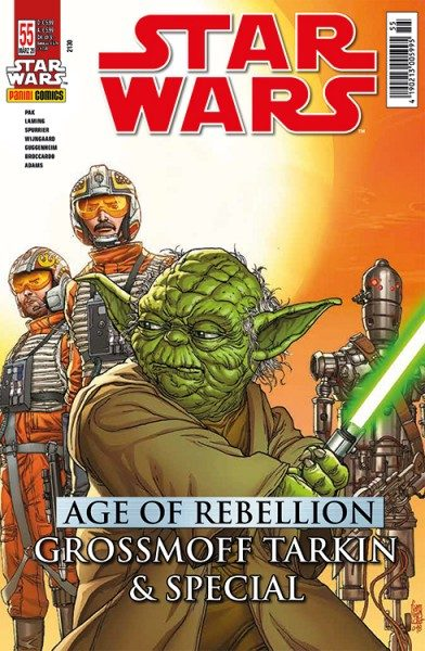 Star Wars 55 - Age of Rebellion - Grossmoff Tarkin & Special - Kiosk Ausgabe Cover
