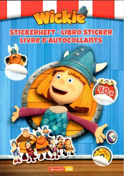 Wicki - Stickerheft