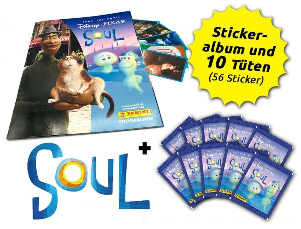 Soul Movie Stickerkollektion - Schnupperbundle mit 10 Stickerüten